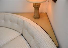 Vintage Corner Sofa Table