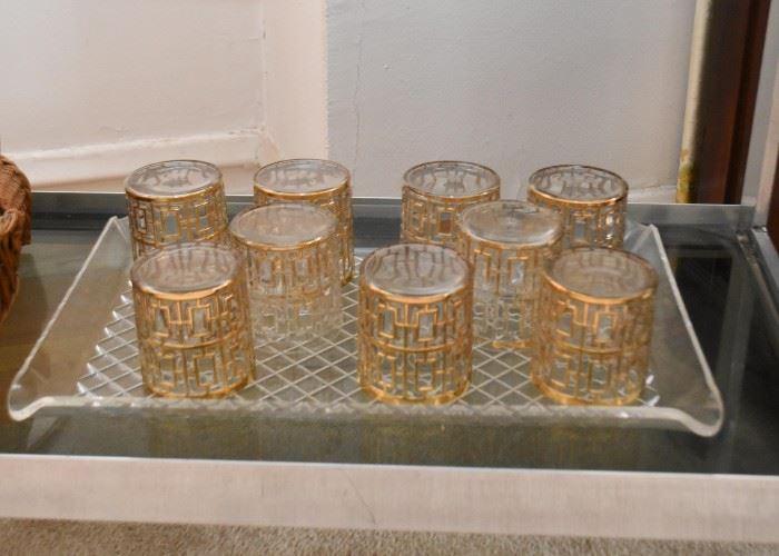 Vintage Bar Glasses / Barware