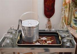 Vintage Barware & Stemware