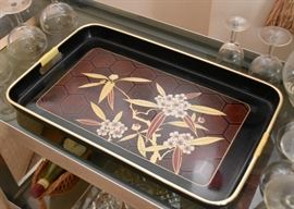 Asian Serving Tray