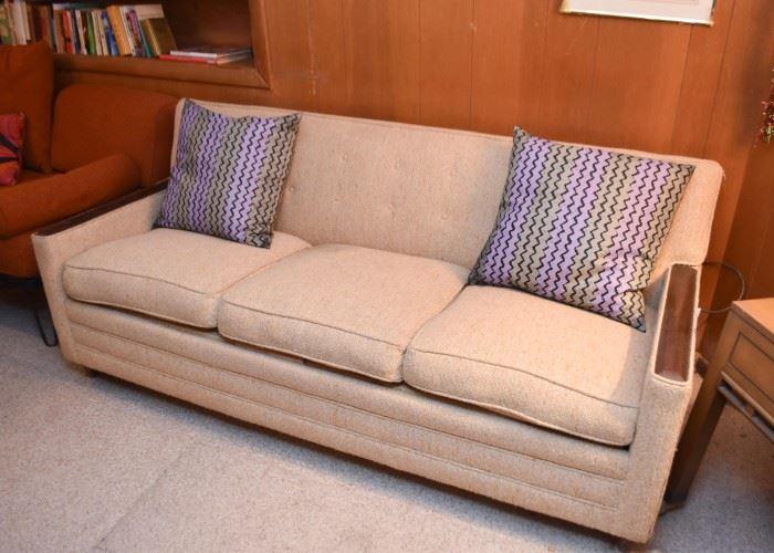 Vintage 3-Seat Sofa