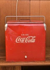 Vintage Coca-Cola Advertising Cooler