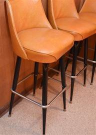 Vintage Bar Stools (Set of 4)