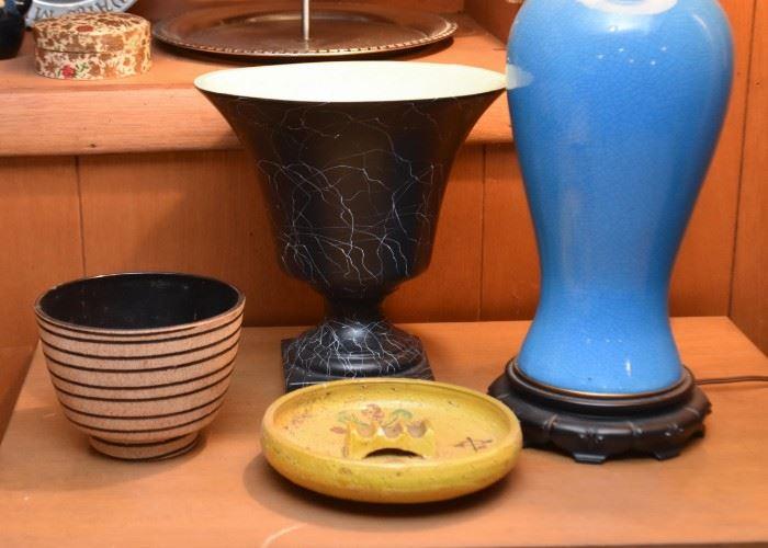 Vintage Pottery (Vases, Bowls, Ashtrays)