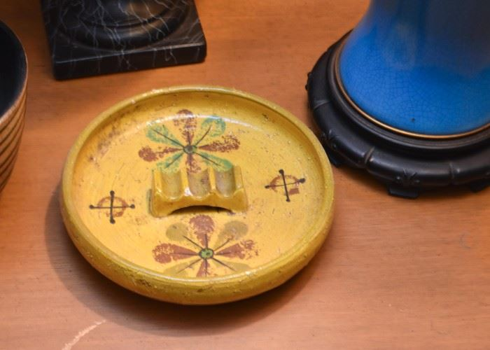 Vintage Pottery Ashtray