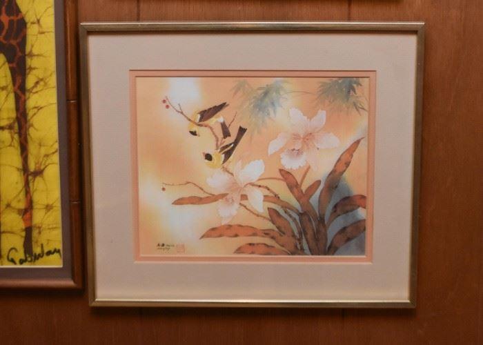 Chinese Artwork, Framed