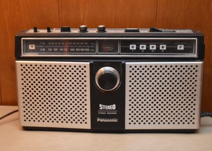 Vintage Panasonic Stereo Radio