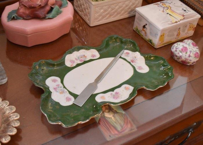 Ceramic Vanity Tray