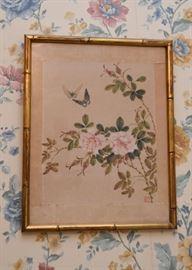 Framed Chinese Artwork