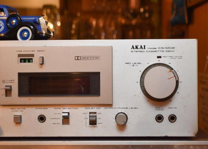 Akai Stereo Cassette Deck