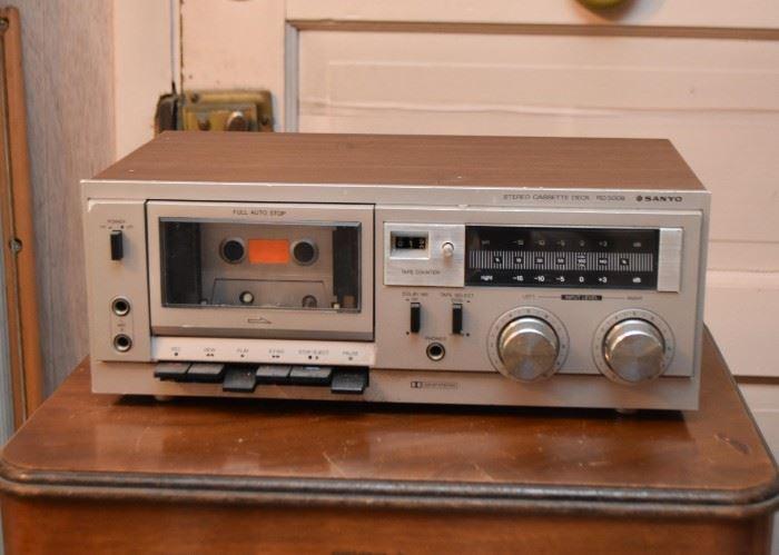 Sanyo Radio / Cassette Player