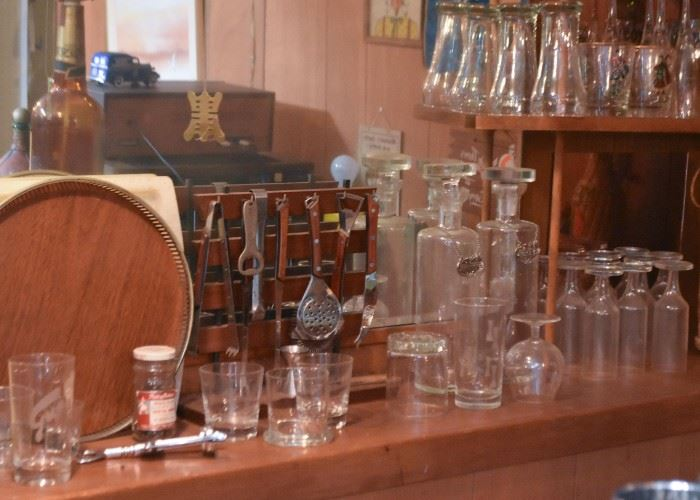 Barware - Bar Glasses & Utensils