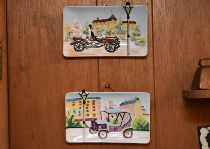 Ceramic Wall Plaques - Wall Hangings