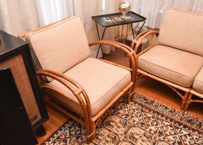Rattan / Bamboo Armchair