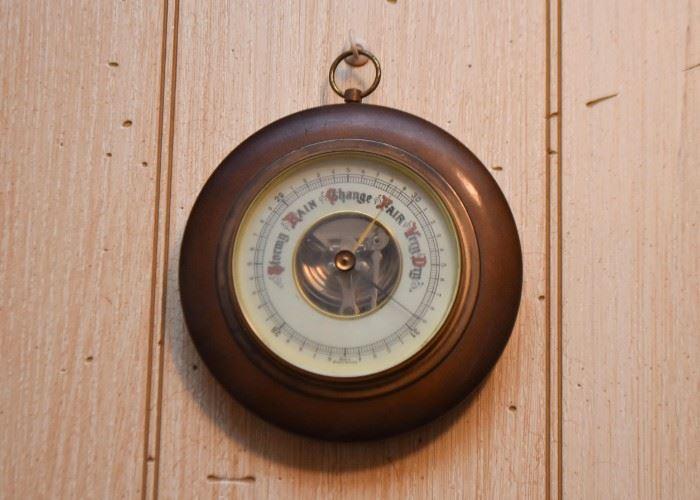 Vintage Wall Barometer