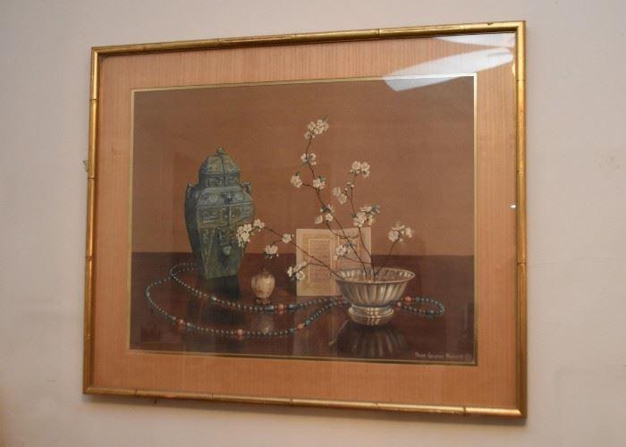Framed Asian Art Print