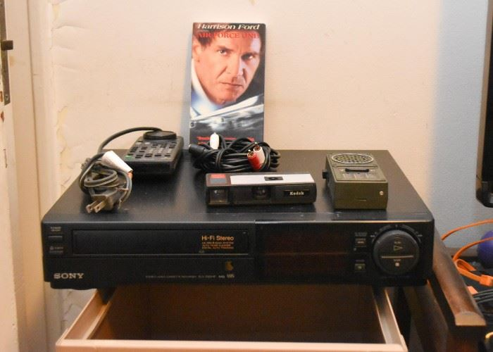 Sony VCR / VHS Player