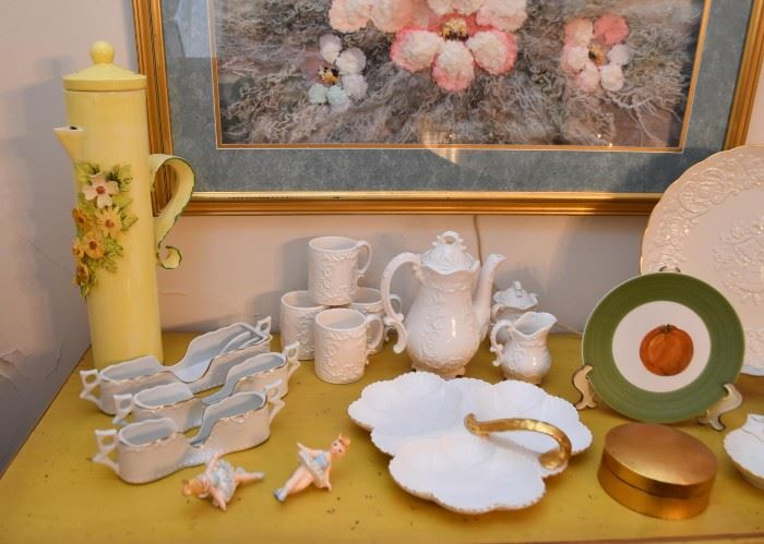 Coffee / Teapots, Serving Dishes, Plates, Etc.