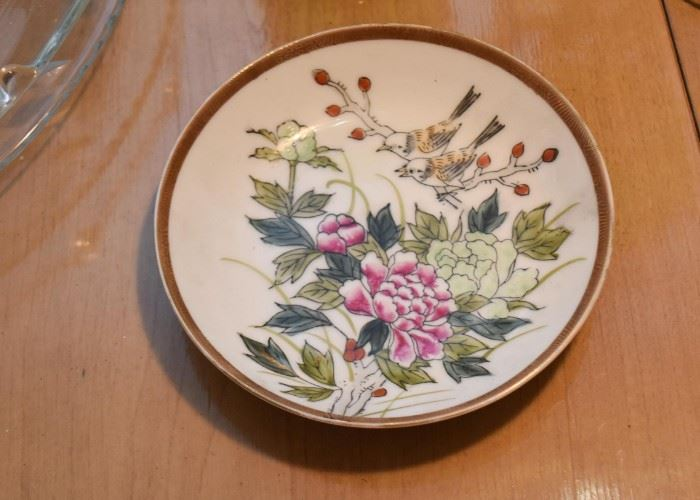 Small Chinese Decorative Plate