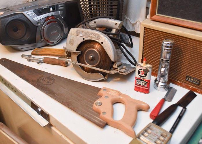 Hand Tools, Saw, Electric Craftsman Circular Saw