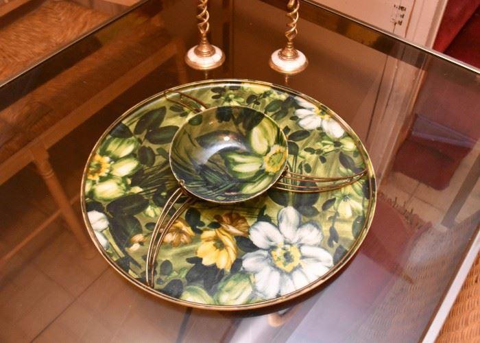 Vintage Serving Platter (Plastic)