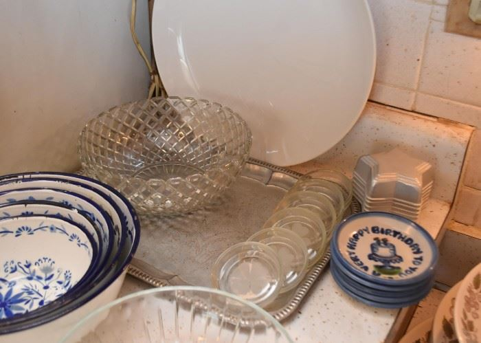 Serving Trays, Serving Bowls, Coasters, Baking Molds