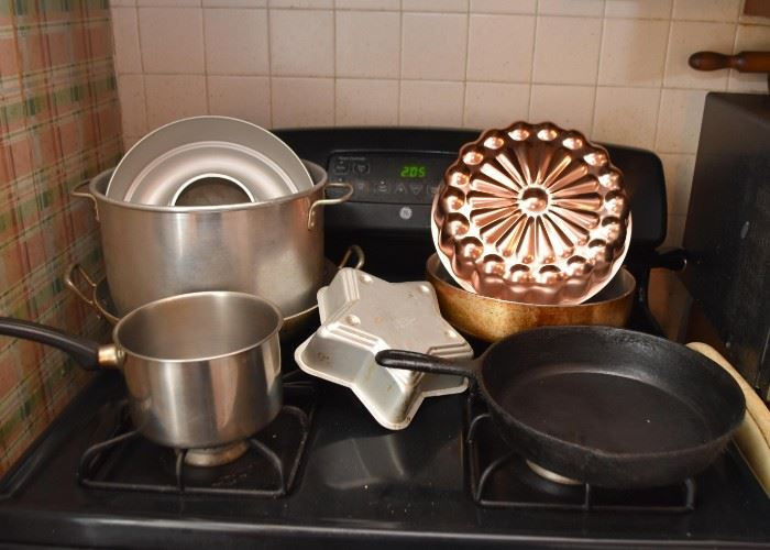 Pots & Pans, Cast Iron Skillet, Copper Mold