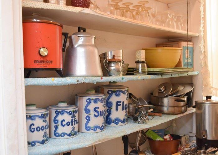 Crock Pot, Kitchen Canisters, Kitchen Gadgets & Utensils