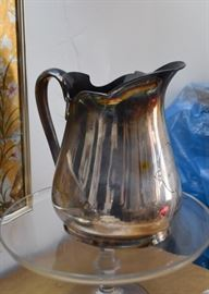 Silverplate / Silver Plate Pitcher