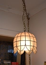 Vintage Swag Lamp / Light