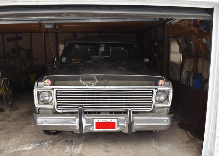 1976 Chevy Pick Up Truck