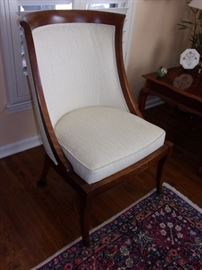 Pair of Ethan Allen 20th Century Traditional  Accent Chairs - These were purchased $800 each new, current similar listings on Chairish  at $450 each. Our price $250 each