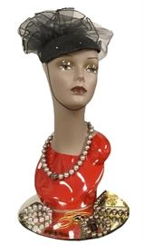 One of quite a few hats in the jewelry and accessories gallery