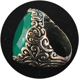 Jade ring from a Sarasota philanthropist