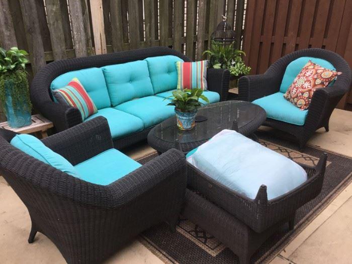 Hampton Bay outdoor patio set