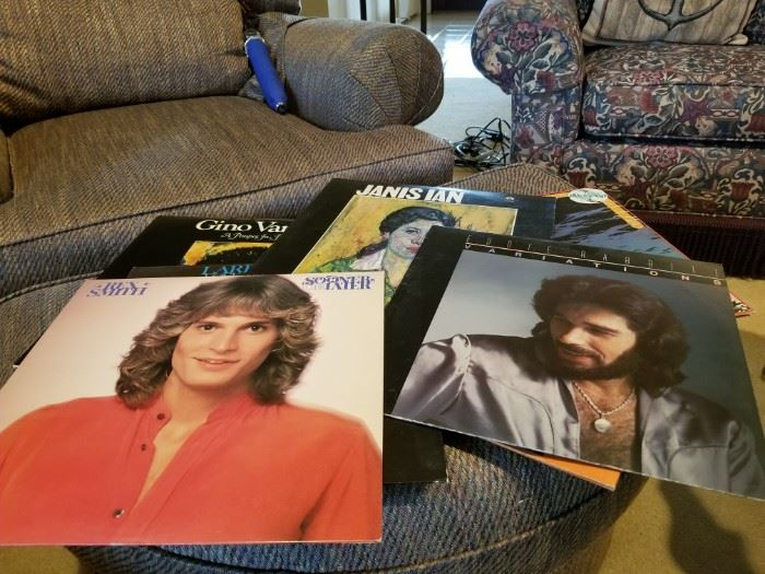 Collection of vinyl