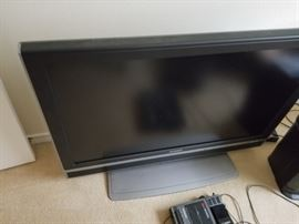 ...one of many flat screens