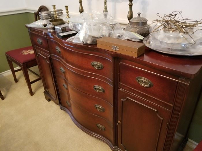 Duncan credenza with lots of storage