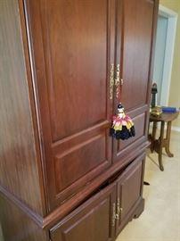 Modern TV armoire