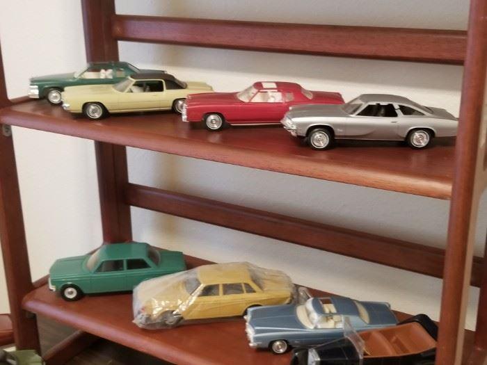 Vintage plastic models