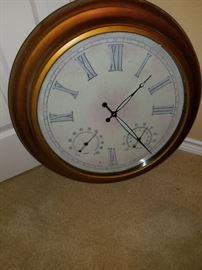 Great clock, lights up