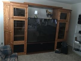 Wall Entertainment Cabinet