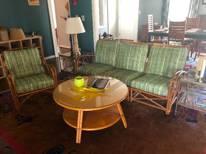Heywood Wakefield 2-tier coffee table