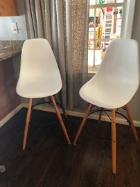 Eames style barstools