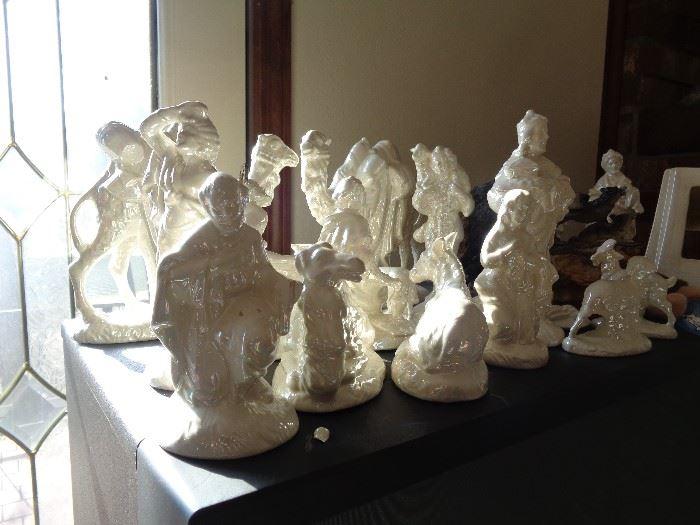 part of nativity scene