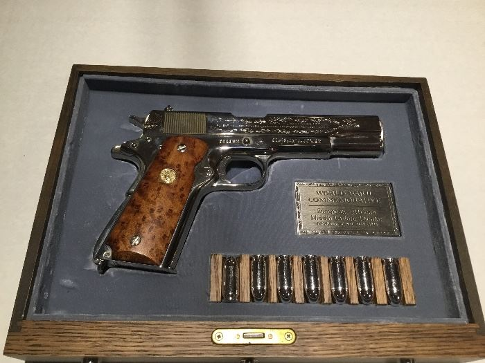 Colt 45 - Commemorative  WWII European, African, Middle Eastern Theatre
