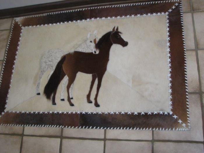 horsehair horse rug