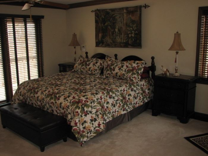 Master Bedroom w/ King bed, night stands