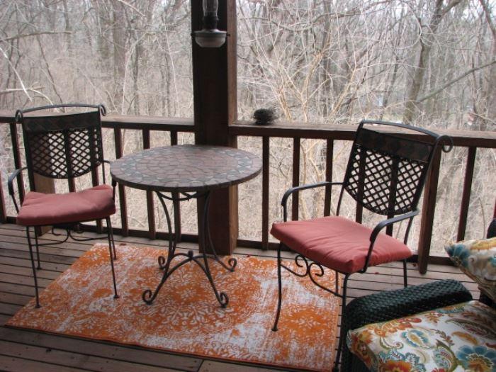 outdoor patio furnishings