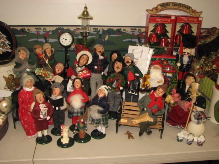 """Christmas """"carolers"""""""